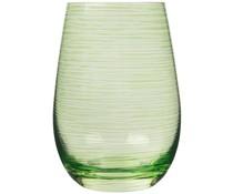 STÖLZLE  Water & longdrink glas 47 cl groen Twister