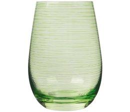 STÖLZLE  High  ball glass  47 cl green Twister