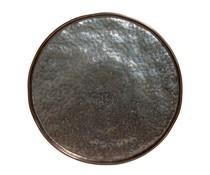 M & T  Plat bord  27 cm Lagoa Metal Black