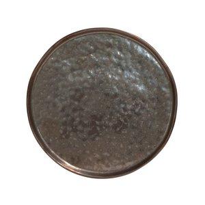 COSTA NOVA  Flat plate 21 cm Lagoa Metal Black