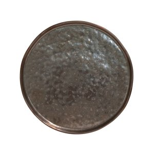 M & T  Flat plate 21 cm Lagoa Metal Black