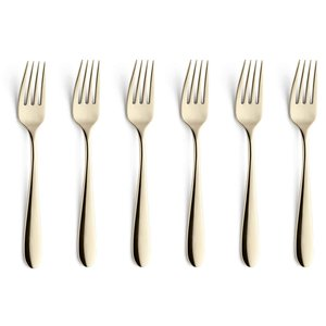 AMEFA  Steakmessen  Table fork PVD coating Champagne