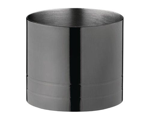 M & T  Barset 8 delig gun metal zwart