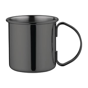 M & T  Cocktail mule 50 cl with handle Gun finish black