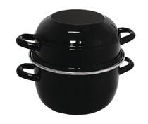 OLYMPIA  Mussel pot black 20cm portion 1,0 kg