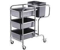 M & T  Cleaning trolley