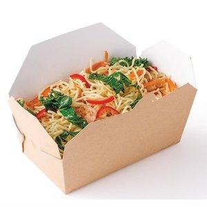 M & T  Kartonnen bakje voor take away food  karton met 250 stuks