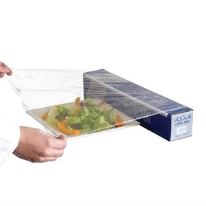 VOGUE  Catering cling film in carton dispener and  with serrated cutting blade