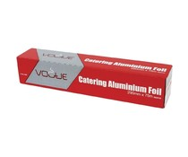 VOGUE  Aluminium foil in carton dispener and  with serrated cutting blade