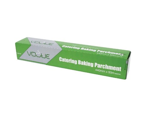 VOGUE  Baking parchment  in carton dispener and  with serrated cutting blade