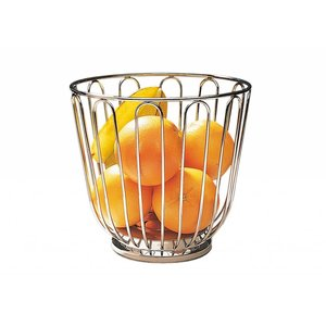 M&T Fruit basket stainless steel 18/8