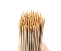 M & T  Skewers wood 20 cm box of 100 pieces