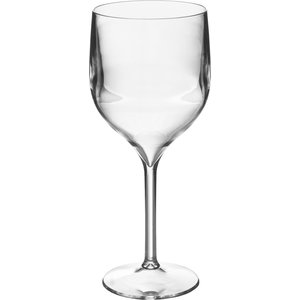 M & T  Wine & gin glas 35 cl footed  polycarbonate