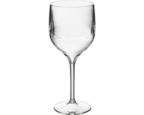 M & T  Wine & gin glass 58 cl footed  polycarbonate