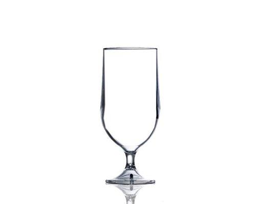 M & T  Bier & cocktail glas 28 cl polycarbonaat