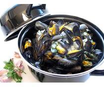 Cosy & Trendy for professionals Mosselpot zwart 1,2 kg