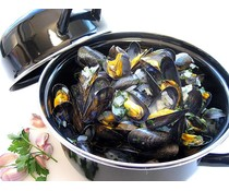 Cosy & Trendy for professionals Mussel pot black 1.2kg
