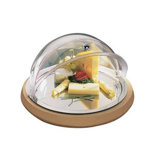 M&T Buffet set chilled round with roll-top cloche