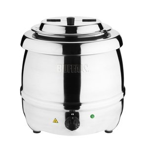 BUFFALO Soup Kettle stainless steel 10 liters