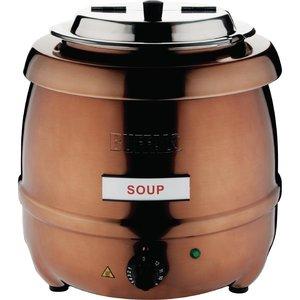 BUFFALO Marmite à soupe cuivre 10 litres