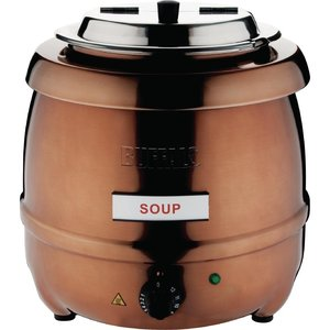 BUFFALO Soup Kettle copper 10 liters