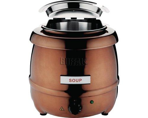BUFFALO Soup Kettle copper  10 liters