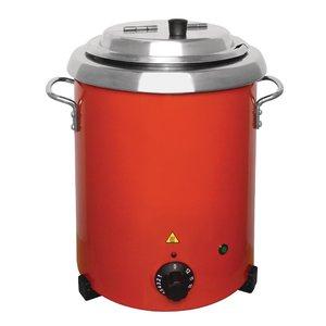 BUFFALO Soepketel rood 5,7 liter