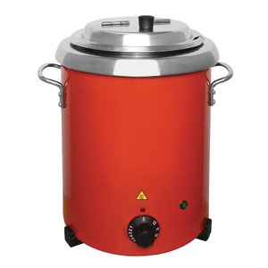 BUFFALO Soup Kettle red 5,7 liter