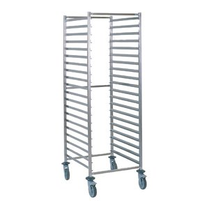 Tournus Racking trolley holds 20 GN2/1