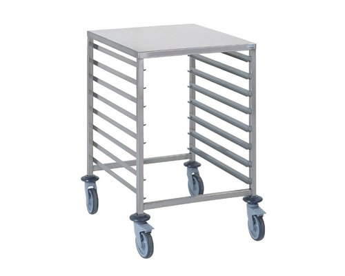TOURNUS  Racking trolley holds 8 GN 2/1 with working tablet