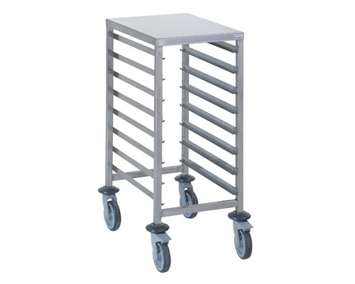 TOURNUS  Racking trolley holds 8 GN 1/1 with working tablet