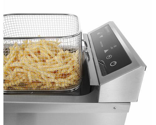 Hendi Inductie friteuse 2 x  8 liter