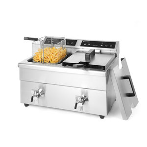 Hendi Induction deepfryer 2 x  8 liter
