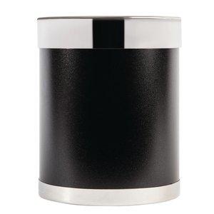 M&T Corbeille métalique noir