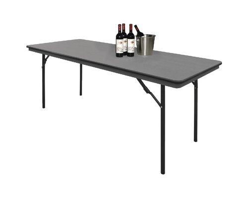 M & T  Banket tafel rechthoekig plooibaar 1,80 meter
