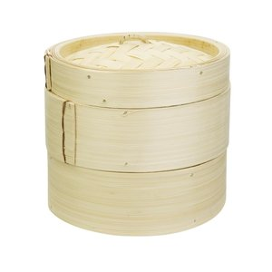 M & T  Bamboo steamer 15cm