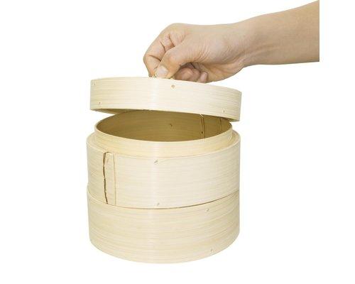 M & T  Bamboo steamer 15 cm