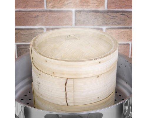 M & T  Bamboo steamer 20 cm