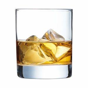 ARCOROC  Verre à  whisky  avec fond lourd  38 cl Islande