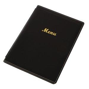 M & T  Menu Holder A5 black