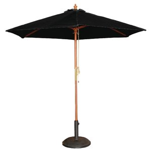 M & T  Parasol black 2,5 m