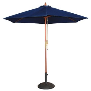 M & T  Parasol blauw 2,5 m