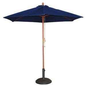 M & T  Parasol blue 2,5 m