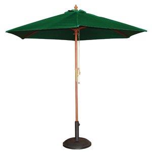 M & T  Parasol green 2,5 m