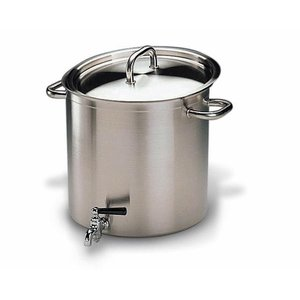 BOURGEAT  Stockpot 28 cm with tap