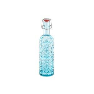 BORMIOLI ROCCO  Fles met beugel Oriente 1 liter blauw