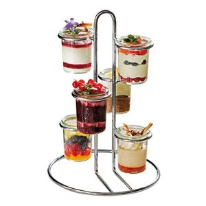 WECK  Buffet stand holds 6 Weck pots