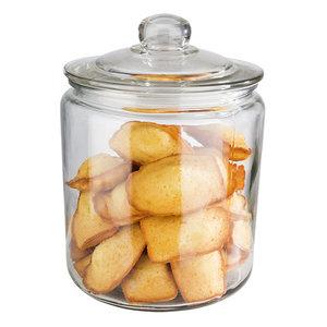 M & T  Voorraad pot met deksel 4 liter