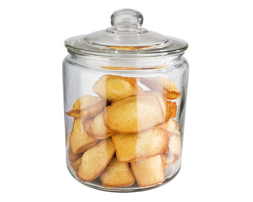 M & T  Canister with lid 4 liter