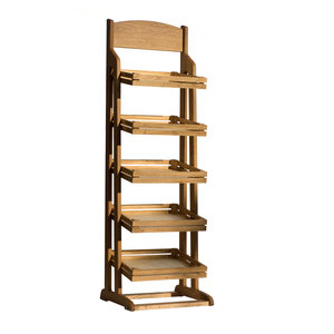 CRASTER  Flow Stand five Tier oak